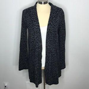 Style & Co Leopard Cardigan Sweater